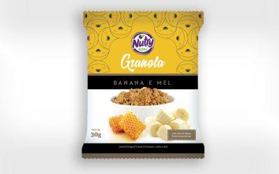 Granola Nutry Banana e Mel